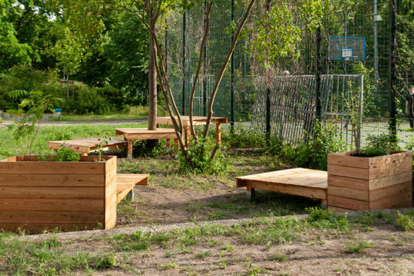 Umweltbildung Rollbergsiedlung Baufachfrau berlin