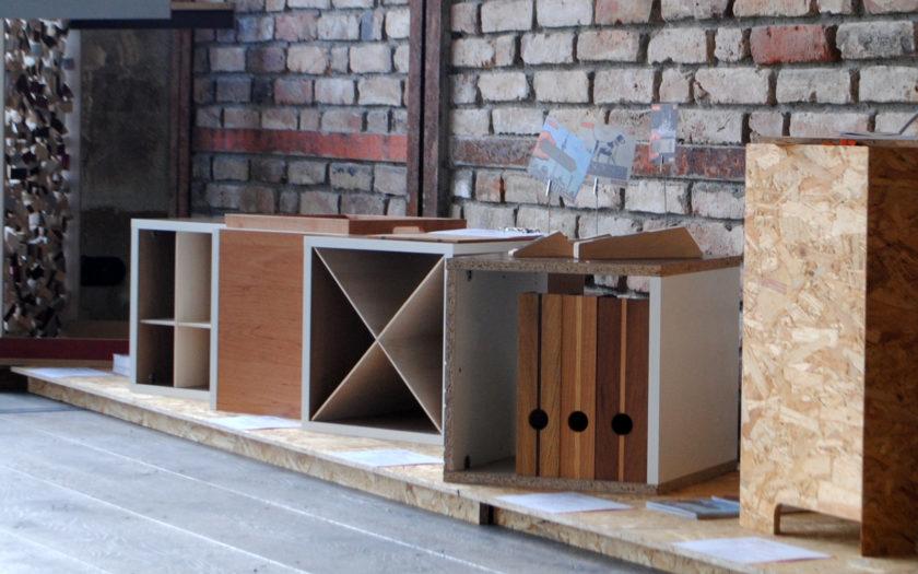 Ausstellung Reuse Upcycling Restholz Berlin