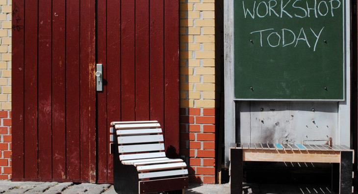 Restholz ZKU Workshops Upcycling Berlin