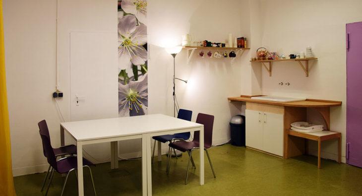 Gemeinschaftsunterkunft Reinickendorf Raumgestaltung Workshops Frauen