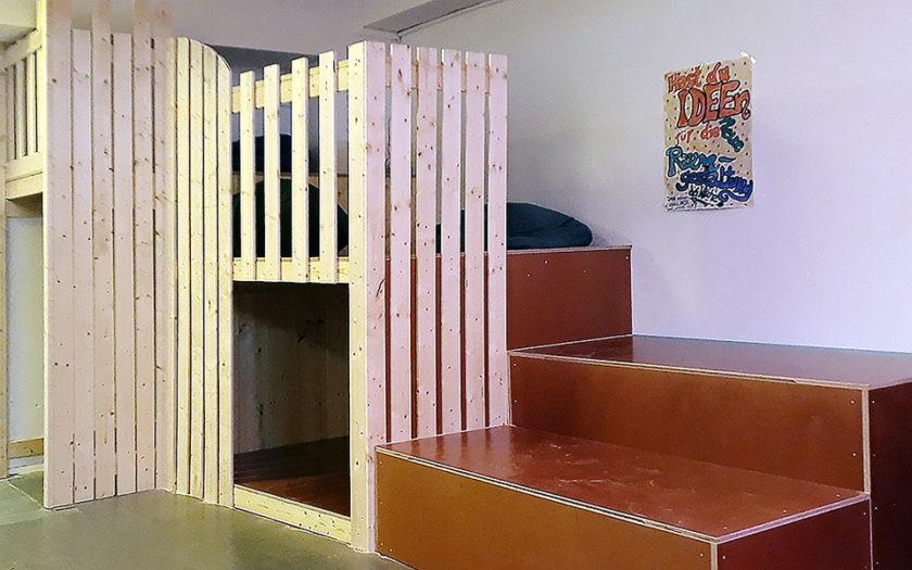 Raumgestaltung Kinderfreizeiteinrichtung Friedrichshain Bauworkshops Kinder