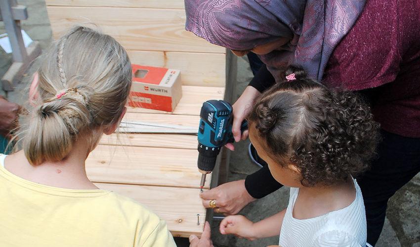 Lernwerkstatt Bauen und Pflanzen