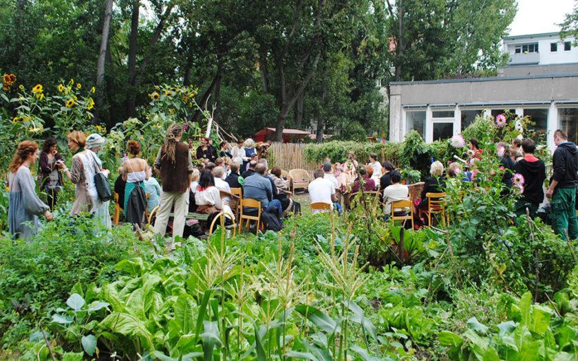 Gemeinschaftsgarten Aufbau Berufsorientierung Menschenskinder Berlin Workshops