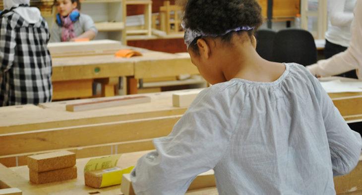 Interkultur Holzwerkstatt Kinder Workshops Berlin