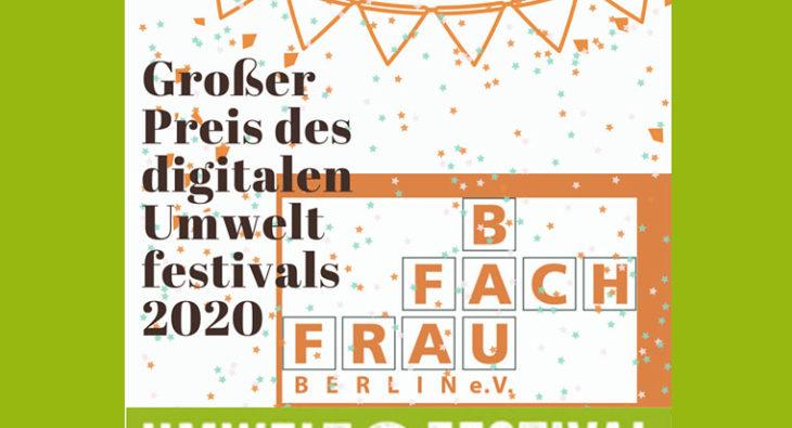 Preis Umweltfestival Berlin Baufachfrau