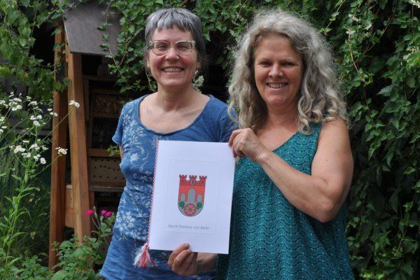 Urkunde des Pankower Umweltpreis 2021