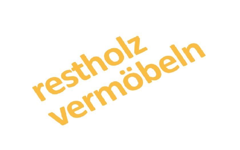 Restholz vermöbeln HdM Logo